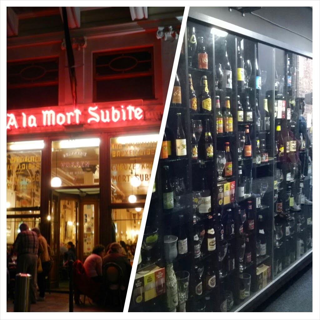 Degustare una birra belga - A la Morte Subite