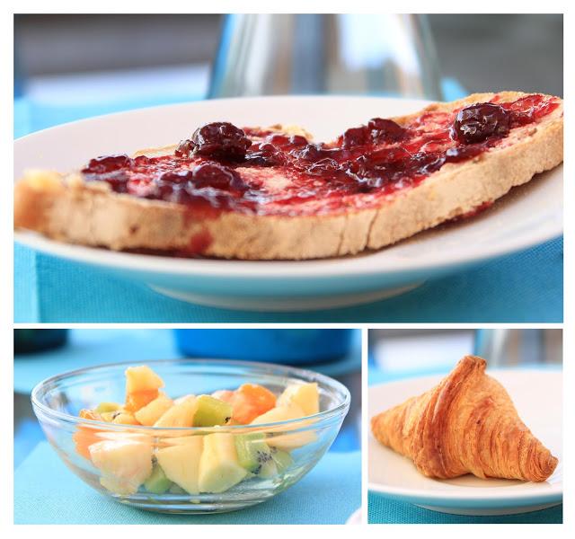 Les Grandes Terres breakfast
