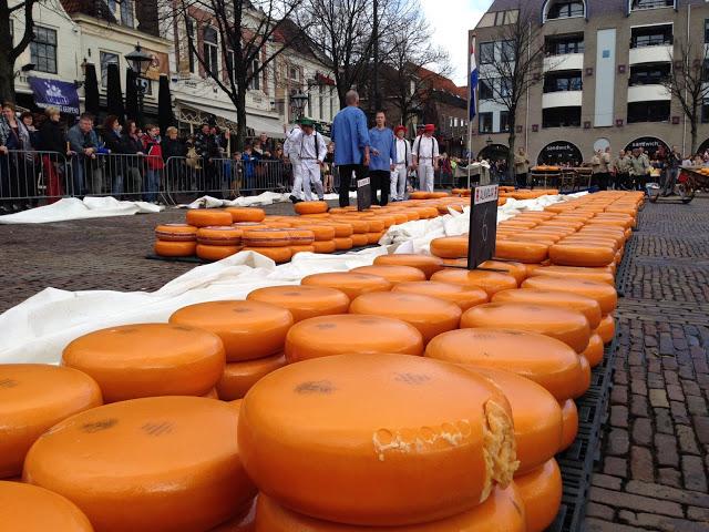 Alkmaar mercato del formaggio