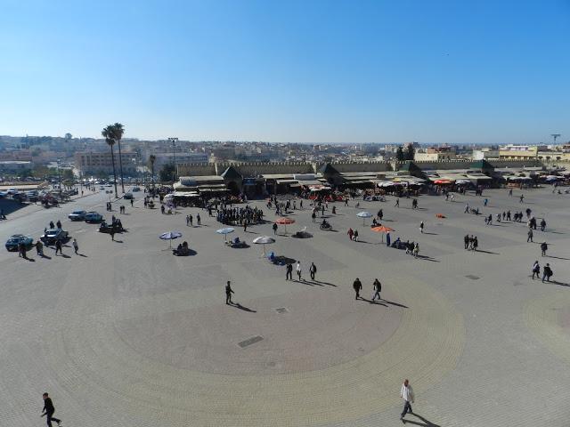 Piazza El Hedim, Meknes