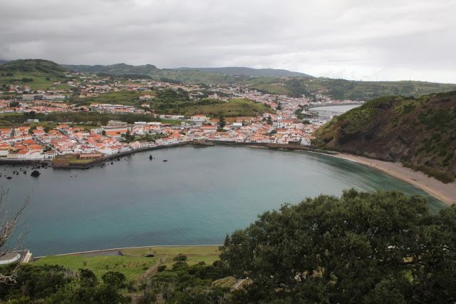 Horta vista dal monte Guia