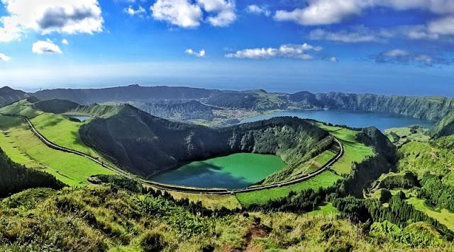 Sete Cidades, Lagoa Azul e Lagoa Verde