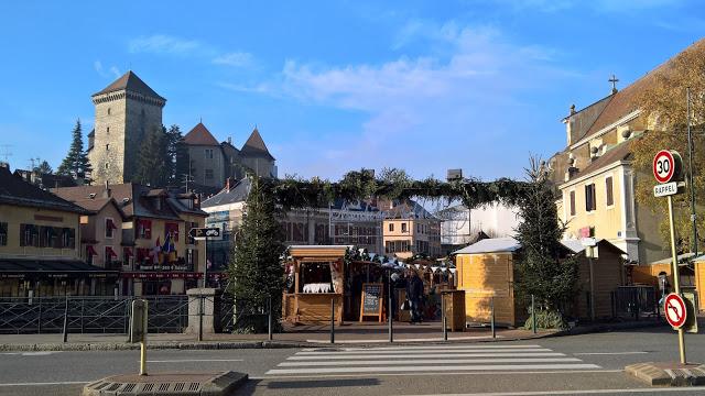 Mercatini di Natale di Annecy pl St Maurice